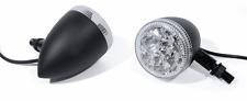 LED Rücklicht Bremslicht Blinker schwarz Motorrad universal Custom für Harley