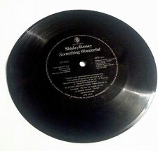 Shirlety Bassey Something Wonderful Stereo Audition/Advert FLEXI-DISC Not Vinyl