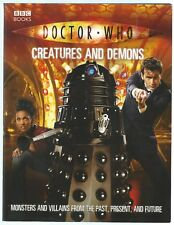 Doctor Who: Creatures And Demons Justin Richards BBC 2007 Reprint Paperback Good