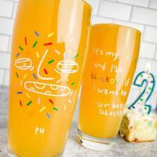 New listing Permanent Hangover 2nd Anniversary Ur Boy Glassy Beer Glass Confetti Birthday