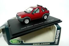 LAND ROVER FREELANDER 1998 OPEN BACK  - UNIVERSAL HOBBIES 1:43