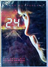 24 - COMPLETE FOURTH SEASON - KIEFER SUTHERLAND - (7) DVD BOX SET - SEALED