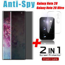 For Samsung Galaxy Note20 Ultra Privacy Anti Spy Tempered Glass Screen Protector