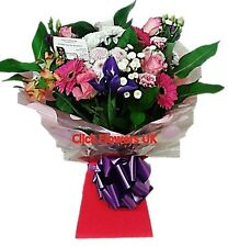 FRESH REAL FLOWERS Delivered Click Selection Bouquet Free Flower Delivery