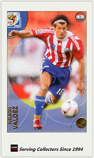 2010 Panini World Cup Soccer Trading Card Common No156 Nelson Valdez (Paraguay)