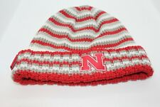 "ADIDAS WINTER CHRISTMAS STOCKING HAT NEBRASKA HUSKERS TAG WITH ""N"" EMBLEM"
