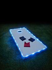 Brightz Cornhole Bean Bag Toss Lights Kit for Cornhole Boards - Blue
