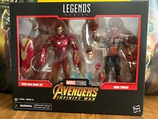 Marvel Legends Avengers Infinity War Iron Man & Iron Spider 2 Pack Target SDCC