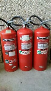 9Lt Water Fire Extinguishers x 3.Pick up only-Mosman or *North Ryde.