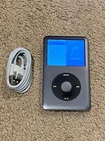 Apple iPod classic 7th Generation Black (160 GB) -- Bundle - Fully Functional!