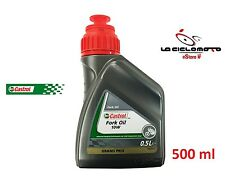 OLIO FORCELLA FORK OIL CASTROL 10W 500 ML FORCELLE MOTO SCOOTER