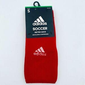 NEW Adidas Metro Socks Red Small