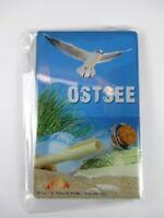 Ostsee Möwe Germany Foto Magnet 8 cm Reise Souvenir,Neu