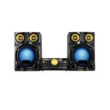 Stereo Anlage CD MP3 USB Bluetooth Hi-Fi Micro LED Design Kompakt Musik Karaoke