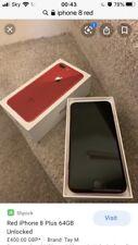 Apple iPhone 8 (PRODUCTO) ROJO - 64GB A1905 (GSM) Excelente Estado