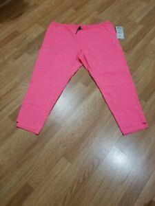 NWT Women's Grey's Anatomy Pink Pop Scrub Pants By Barco 4XL XXXXL