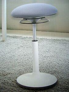 Sitztrainer - LIVING STYLE, weiß/grau++neu und ovp++