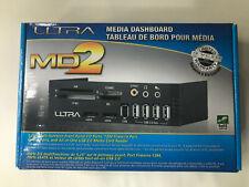 "Ultra MD2 5.25"" Media Dashboard USB 2.0 Firewire Esata Ports Media Card Reader"