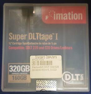 Imation Black Watch Super DLTtape I - 160GB Native 320GB Compressed - 66-0000-49