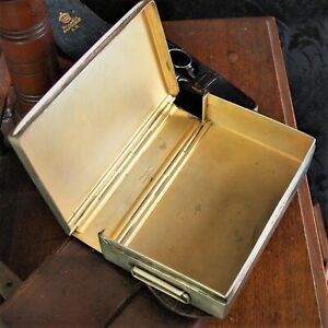 Good Quality Antique Vintage Swaine & Adeney Equestrian Sandwich Tin