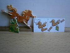 KINDER PUZZLE CARTON CHEVAL K01 N°108 + BPZ