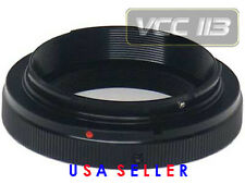 VIVITAR T-Mount T2 Lens Adapter for Nikon Nikkor AF DSLR SLR