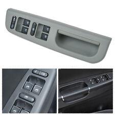Grey Master Window Switch+Panel Bezel+Handle Trim Cover Set for VW Passat Jetta