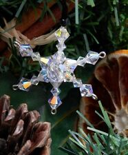 Crystal Snowfke Christmas Tree Decoration making kit with Swarovski Crystals