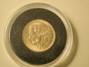1945 Mexico 2 1/2 Pesos Gold Uncirculated KM463