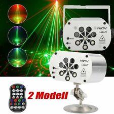 240 Muster 8 Lens LED Laser Projektor Bühnenbeleuchtung RGB UV Disco Party Licht
