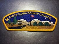 Boy Scouts of America BSA Santa Clara County Council California Patch #2