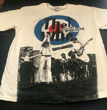 THE WHO OFFICIAL WHOLIGAN T SHIRT 100% COTTON Large