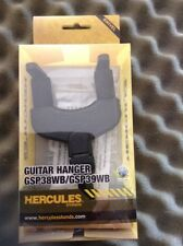 Hercules GSP38WB Guitar Wall Hanger Autoclose and 6 Plectrums