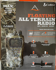 Cobra MR HH450 Camo Marine VHF/GMRS/Weather Floating All Terrain Radio