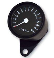 Drehzahlmesser schwarz Yamaha XJ 600 650 750 900 XV 125 250 V-Max Mini Tacho NEU