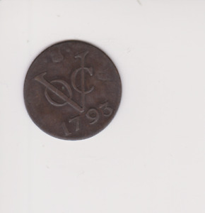 INDONESIEN, NETHERLANDS EAST INDIES, DUIT 1793, VOC,.GOOD GRADE,  X.393