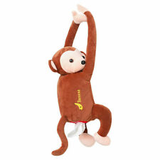 Cute Hanging Monkey Tissue Holder Cover For Car Home Decor Novelty Gift