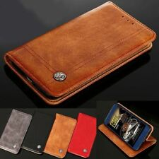 For Motorola Moto G8 G7 Power Plus G6 G5 G4 Z2 Z3 E5 E6 Play Leather Case Cover