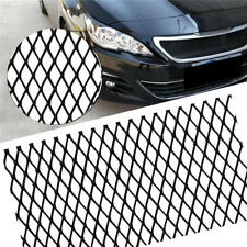Black Aluminium Rhombus Grille Mesh For Car Bumper Body kit Fender, Hood Vent