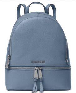 MICHAEL Michael Kors Medium Rhea Zip Backpack Leather Bag