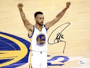 Stephen Curry Signed 8x10 Photo Golden State Warriors JSA Authentication GSC