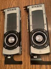Nvidia Geforce GTX 970 4GB Rare Founders Edition  2 Available