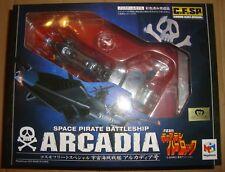 COSMO FLEET-SPECIAL SPACE PIRATE BATTLESHIP ARCADIA MEGAHOUSE (CAPITAN HARLOCK)
