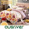 Premium New Single/Double/Queen/King Bed Quilt/Duvet/Doona Cover Set 100%Cotton
