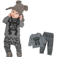 Unbranded Cotton Blend Tracksuits (0-24 Months) for Boys