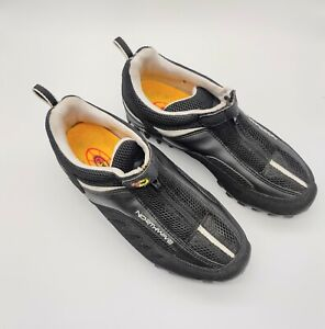 Northwave Cycling Shoes Size FR 39 Black Zip Up Womens 8 / Mens 7