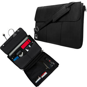 """Lencca Tablet & Accessories Sleeve Carrying Case Shoulder Bag For 12.9"""" iPad Pro"""