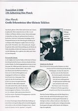 Numisblatt 2008 Beschreibung für die Blätter 2 u. 3/2008  in pro collect Folie