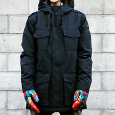 Women New Black Ski Snow Snowboard Winter Waterproof Jacket  6 8 10 12 14