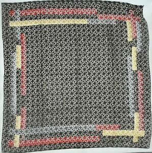 Square Hijab Cotton Scarfs, Classic Print, Tichel, Chemo Headwear, Hair Bandana